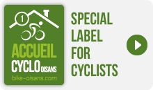 Accueil Cyclo Oisans Label 1 bike - Special Label for Cyclists