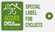 Accueil Cyclo Oisans Label 3 bikes - Special Label for Cyclists
